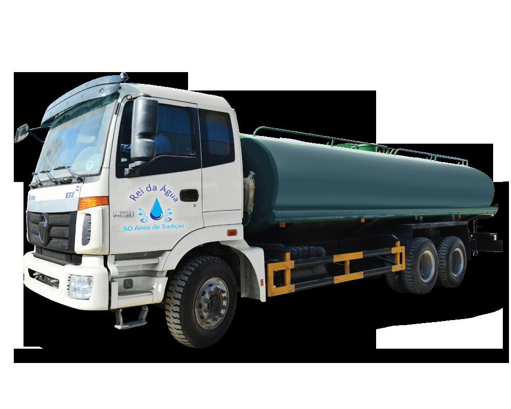 Caminhão de água potável em Curitiba